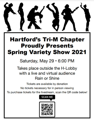 Spring Variety Show poster